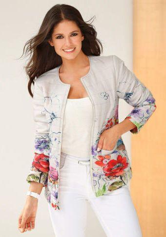 Prošívaná bunda s potiskem #ModinoCZ #jacket #goodlooking #fashion #moda #trendy #bunda #kratkabunda #stylish #styl