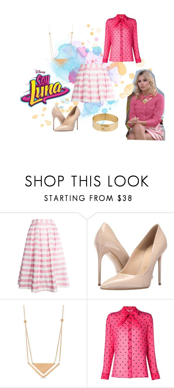 """""""soy luna"""" by maria-look on Polyvore featuring re:named, Massimo Matteo, Allurez, Yves Saint Laurent and Amanda Keidan"""
