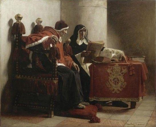 Le grand inquisiteur  Jean-Paul Laurens