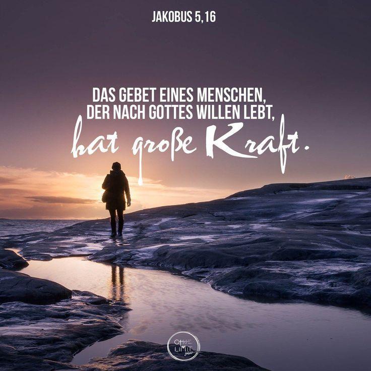 # # Kraftvolles Gebet # # Bibelvers Jakobus   – Impulse – #Bibelvers #Gebet #Imp…