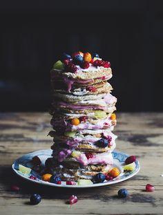 Gluten-Free Cardamom Pancakes