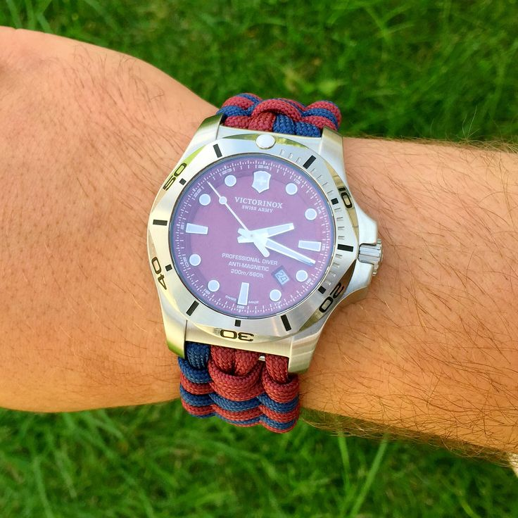 Ręcznie wykonana bransoleta do zegarka. Jak chcesz twój zegarek tez może mieć taką. Wersja bransolety z szeklą metalową regulowaną.