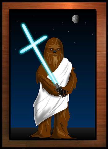 Wookiee Jesus: Wookiee Jesus, Wookie Jesus, The Oatmeal, Star Wars, Funny, Theoatmeal Com, Things, Starwars