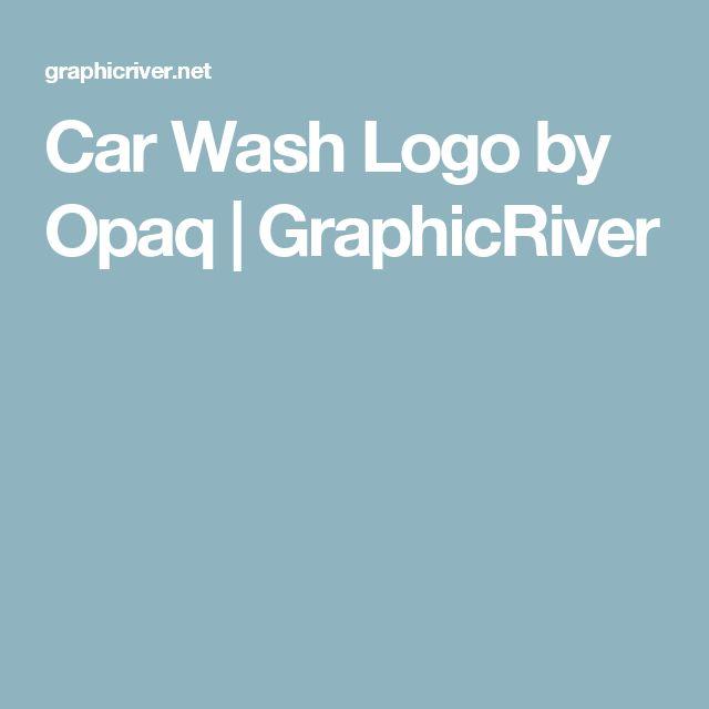 Car Wash Logo by Opaq | GraphicRiver