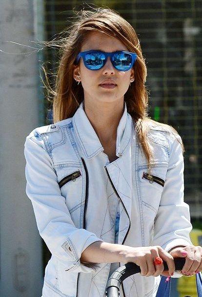 Jessica Alba | Sunglasses Trends http://www.eyesonbrickell.com