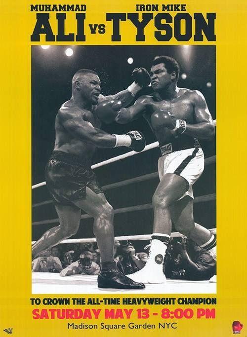 Imagine?!  Mike Tyson vs. Muhammad Ali