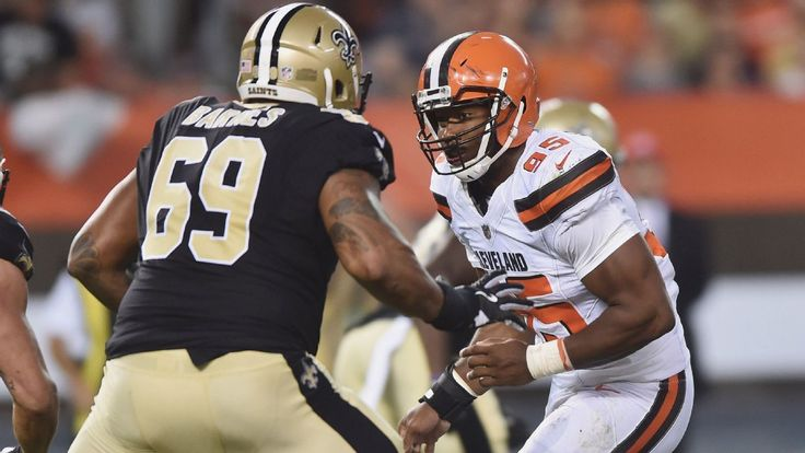 Myles Garrett shows winning mentality with his approach and attitude #FansnStars