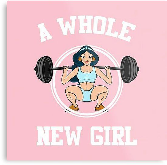 'A whole new girl' Metal Print by maramk