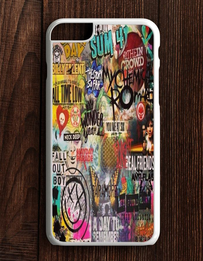 5 Seconds Of Summer All Time Low My Chemical Romance Fall Out Boy Blink 182 Nirvana Green Day iPhone 6 Plus | 6S Plus Case