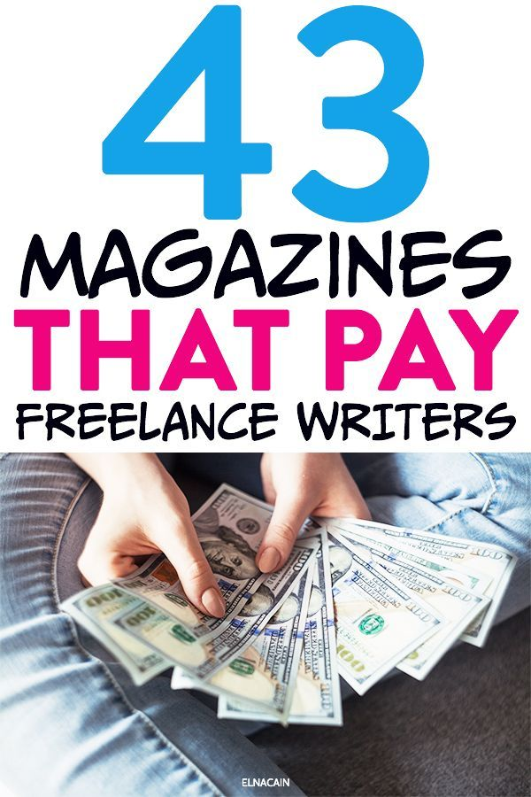 The Giant List Of Magazines That Pay Writers Online Writing Jobs Freelance Writer Freelance Writing Jobs