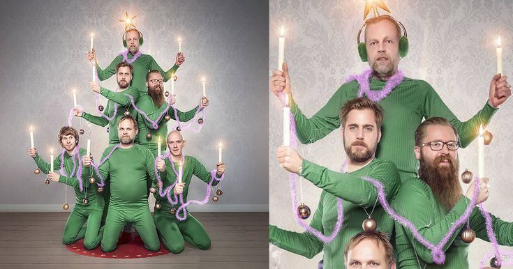 This is a Norwegian Camera Shop's Christmas Photo