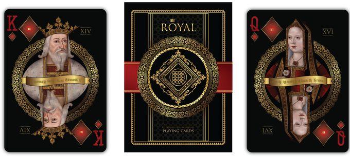 """""""ROYAL"""" Playing Cards by Natalia Silva — Kickstarter"""