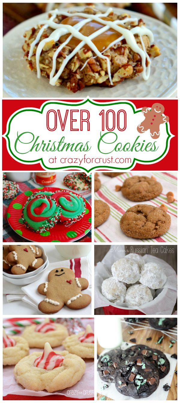 Come find a cookie to make this holiday; there are over 100 Christmas Cookies in this collection!