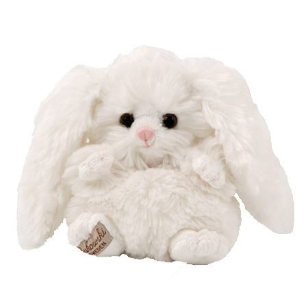 Beauty is a cute and cuddly soft white little bunny.    #sendateddy #teddybear #toy #gift  #white #bunny