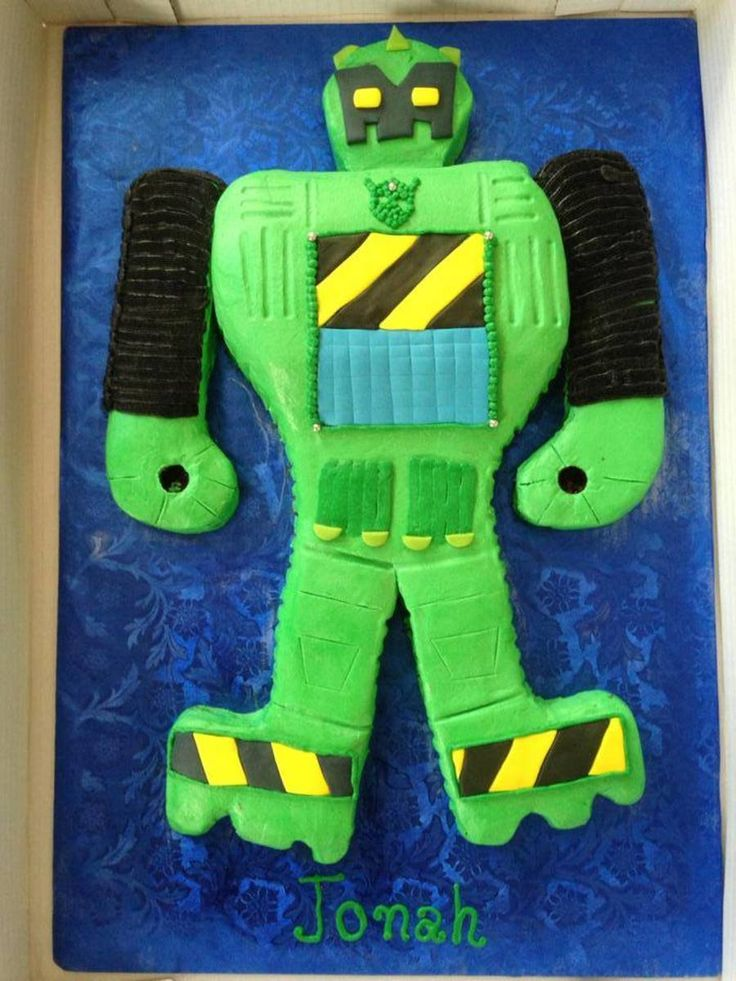 Boulder The Rescue Bot  on Cake Central