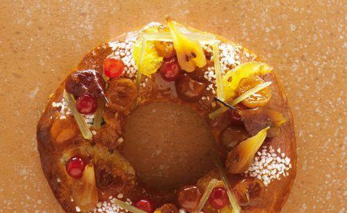 Brioche aux fruits confits couronne des rois par Alain Ducasse