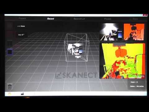 3D-Scanning Tutorial SKANECT and Kinect