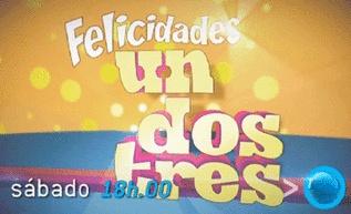 'Un, dos, tres' cumple 40 años en QTTF. No te lo pierdas este sábado a las 18.00 horas http://www.telecinco.es/quetiempotanfeliz/Que_tiempo_tan_feliz-Promociones-Un_dos_tres-Narciso_Ibanez_Serrador_3_1607869226.html