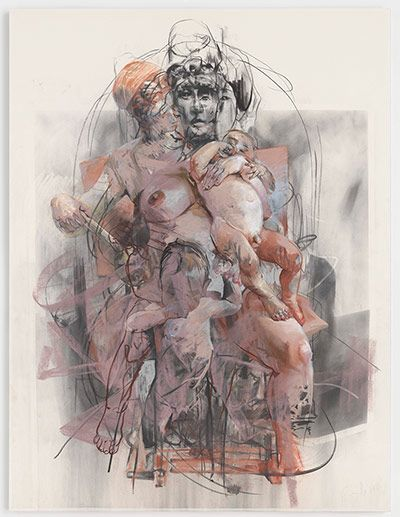 Jenny Saville: Study for Isis and Horus, 2011