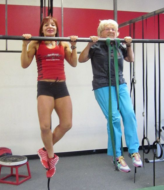 Jean Stewart the Deadlifting (Great, Great) Grandma | CrossFit Community Whoa now that's some motivation!!!