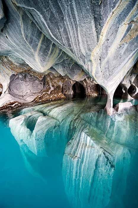 Marble Caverns, Chile Patagonia