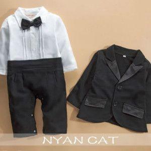 Boy Suit Romper R450 www.babyheadbands.co.za