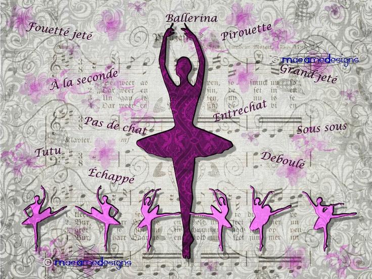 Ballet Ballerina Dance Girl. €12,00, via Etsy.