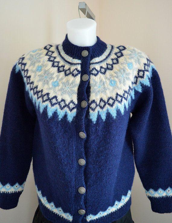 Vintage Berfgenskofter Sweater Vintage Cardigan by MadMakCloset