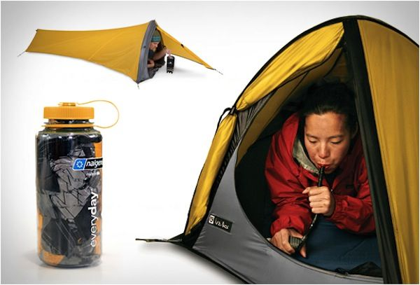 Camping Gear in a bottle - See More at http://outdoorgearhead.com