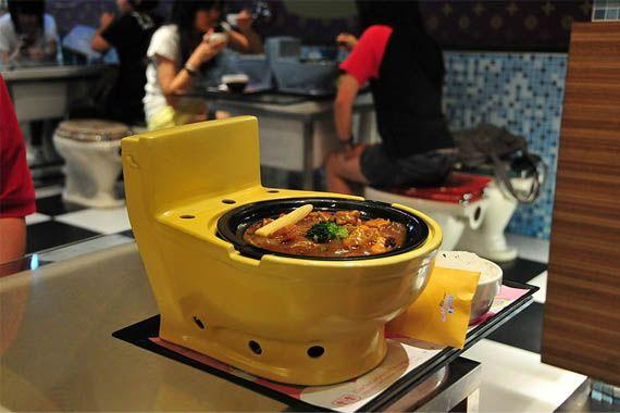 Modern Toilet Restaurant Tapei Taiwan