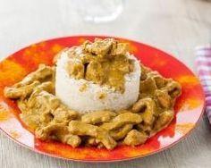 Curry de dinde au beurre de cacahuètes (facile, rapide) - Une recette CuisineAZ