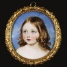 Victoria (1840-1901), The Princess Royal - First child and first daughter of Queen Victoria. William Ross - 1845: First Daughter, The Queen, Queen Victoria S