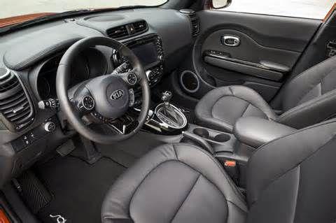 2014 Kia Soul interior.