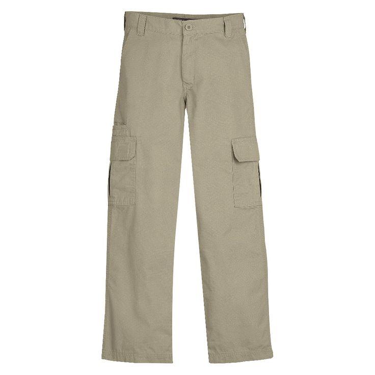 Dickies Boys' Rip-Stop Cargo Pant - Desert Sand 20, Boy's, Beige