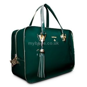 BARADA Leather tote bag Jade green http://mybags.co.uk/barada-leather-tote-bag-jade-green-1675.html