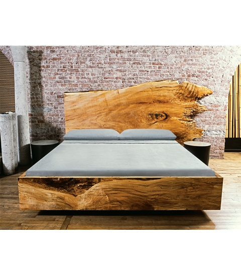 john houshmand this unique maple bed frame and headboards distinctive quality derives from the woods natural - Unique Bed Frame