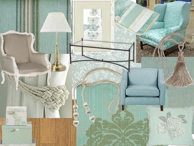 Duck Egg Blue Living Room Classic