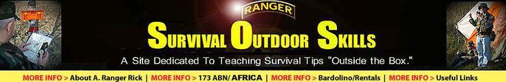 Outdoor Survival Tips - Everything you need to know is in this.