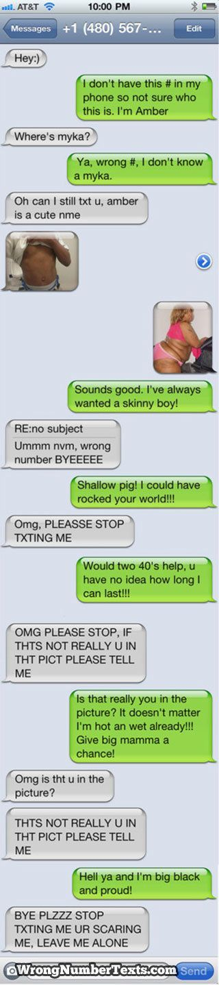 Funny Text Messages Gone Wrong | Funny+Text+Messages+Gone+Wrong | Wrong number gone bad. I laughed so ...