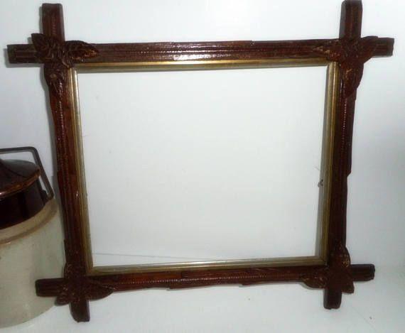 Victorian Frame Oak Picture Frame Twig Frame 10 x 12