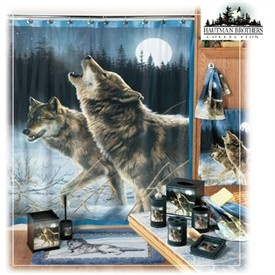 Superb Ever Since I First Saw This I Have Planned On Having A Wolf Bathroom. So