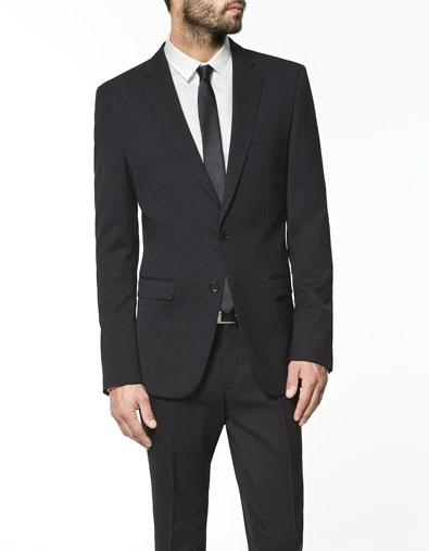 Clean and simple: Staples, Men Work, Clean, Slim Suitzara, Dudes Style, Blazers Suits, Zara United States, Products, Black Blazers