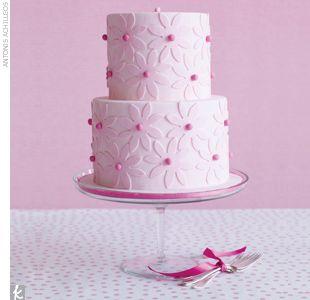 Modern #Wedding #Cake by How Sweet It Is