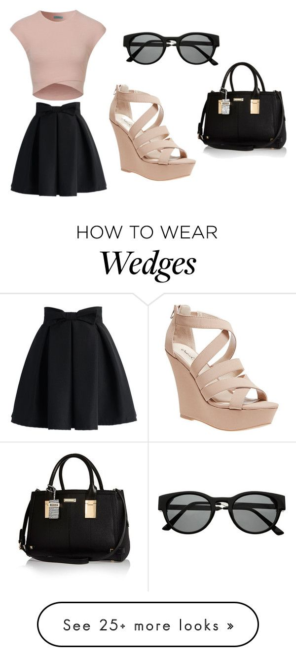 """Untitled #1"" by helnz on Polyvore featuring Chicwish, Wet Seal, Retrò and River Island"