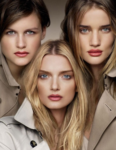 Love the Burberry Makeup Campaign