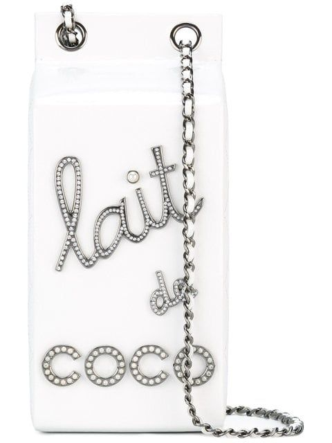 ae71fdde3eb6 Chanel Vintage Lait De Coco Shoulder Bag in 2018   Vintage Bags ...