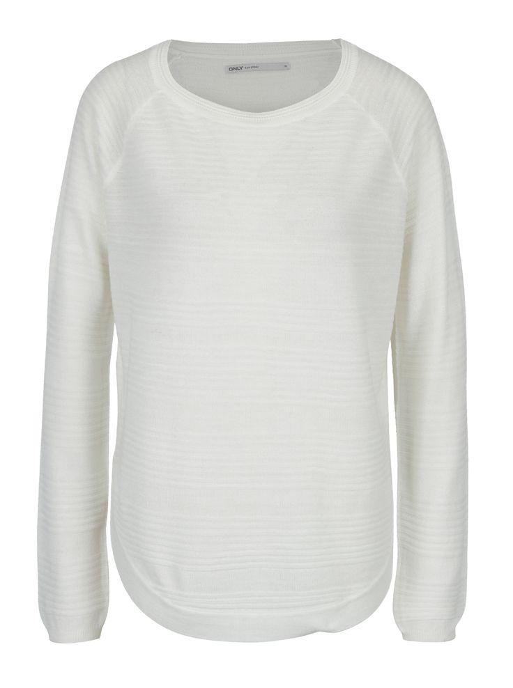 Tip: pulover cu dungi in reliefCuloare: albModel: dungiMaterial:100% fibre acriliceCalitatile materialului: flexibil, finSpalare:40 ° CVei...