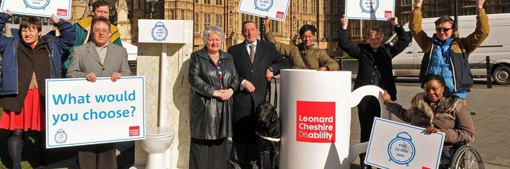 MPs Anne McGuire and David Blunkett joined our campaigners calling to end 15-minute visits