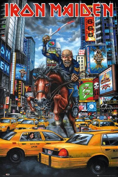 Iron Maiden ~ New York shirt event Tour 2012