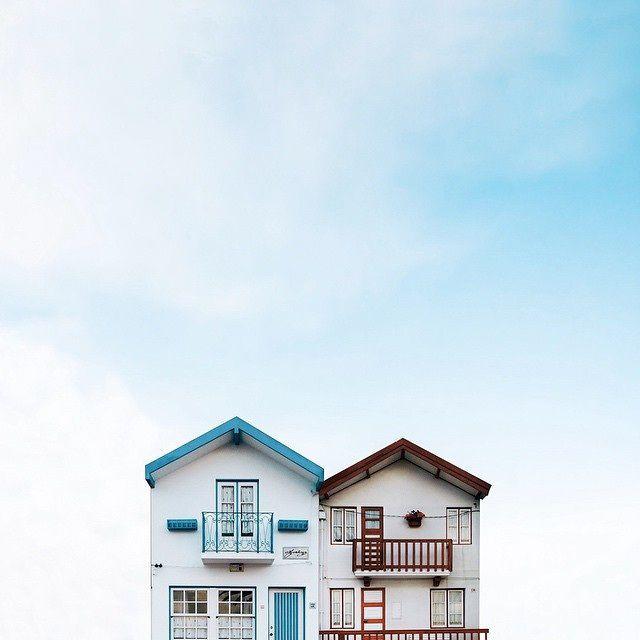 最接近天空顏色的房子們|Sejkko